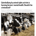 Cyberbullying against farmers: what can be done?