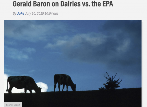 Local, national radio reports cover EPA abuse of science and farmers