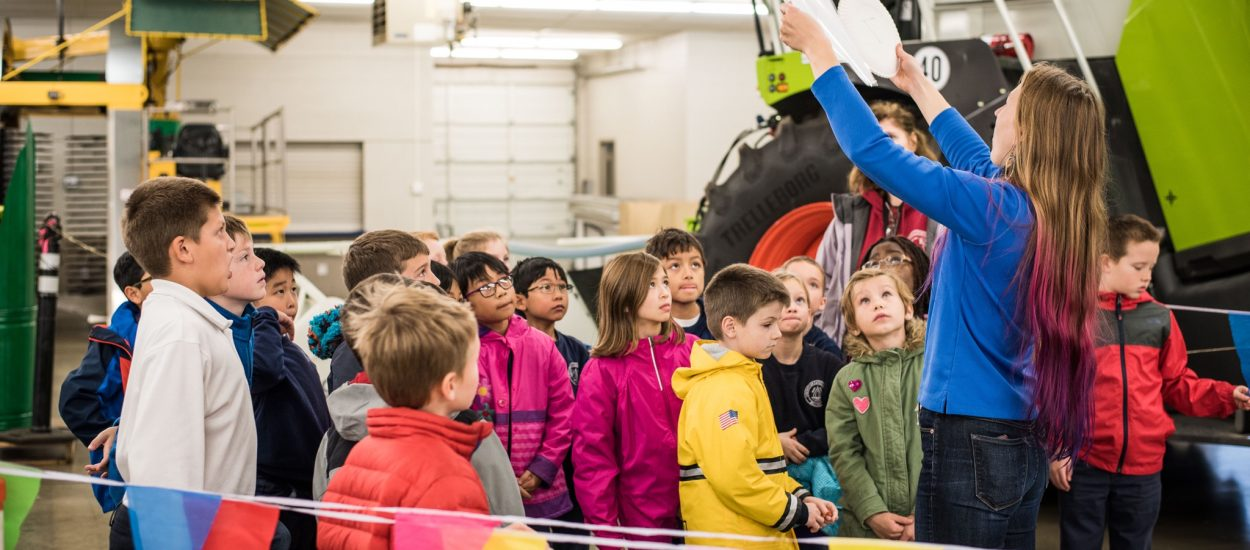 Whatcom Farm Circle teaches over 800 third graders about farming