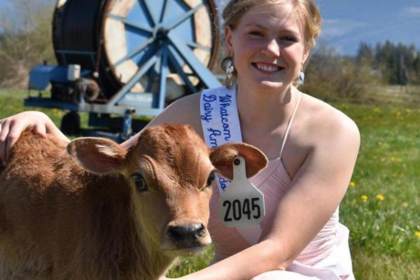 Jewel Plagerman was crowned as the 2020 Whatcom County Dairy Ambassador in a virtual coronation in April.