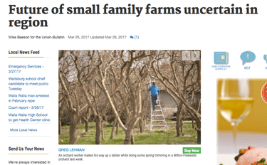 We are losing the battle for our small family farms