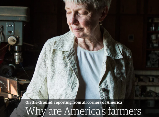 The sad reality of farmer suicides – highest of any occupation