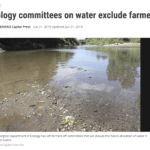 Not smart to exclude farmers from Ecology plans for water use