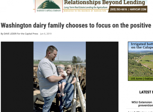 Dynamic young dairy farmers like Markus provide encouragement