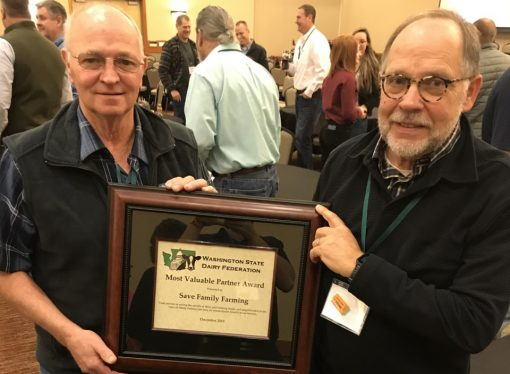 "Save Family Farming presented with ""Most Valuable Partner"" Award"