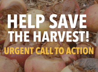 URGENT CALL TO ACTION! SAVE OUR FARMS, SAVE OUR HARVEST, SAVE OUR JOBS!